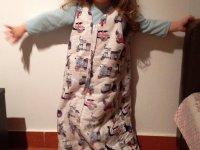 Openbag hálózsák és hordható takaró gyerekeknek