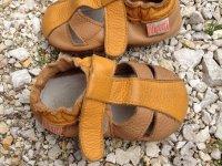 Liliputi puhatalpú cipők